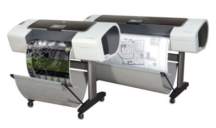 Traceurs de plans Designjet T610 et Designjet T1100
