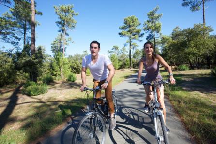Vélos et pistes cyclables sur ile Oleron