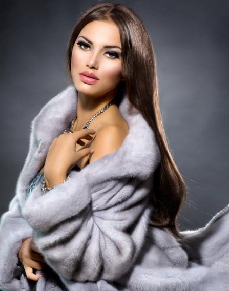 Le manteau de fourrure