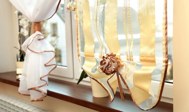Les rideaux fantaisies