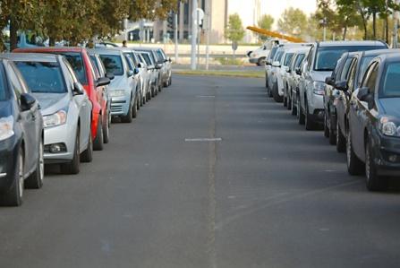 Stationnement voitures