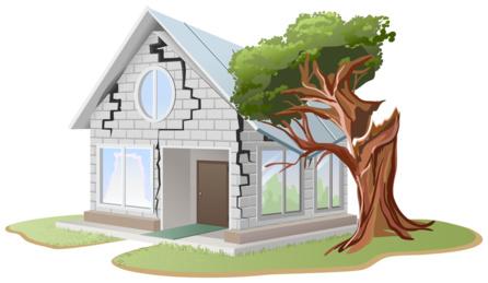 Fissures de la maison