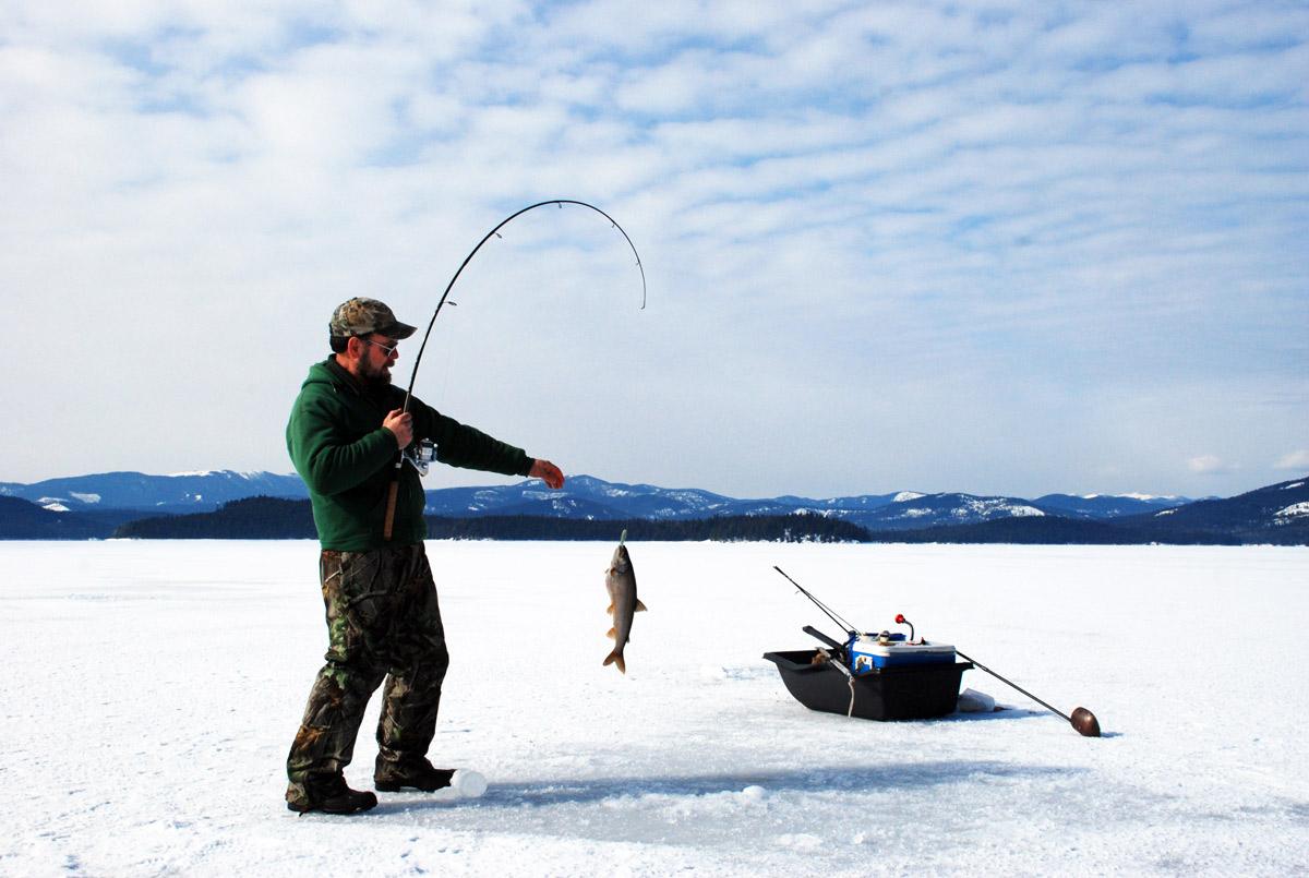 La pêche sur glace