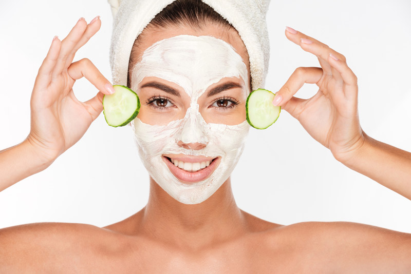 Préparer un masque pour son visage