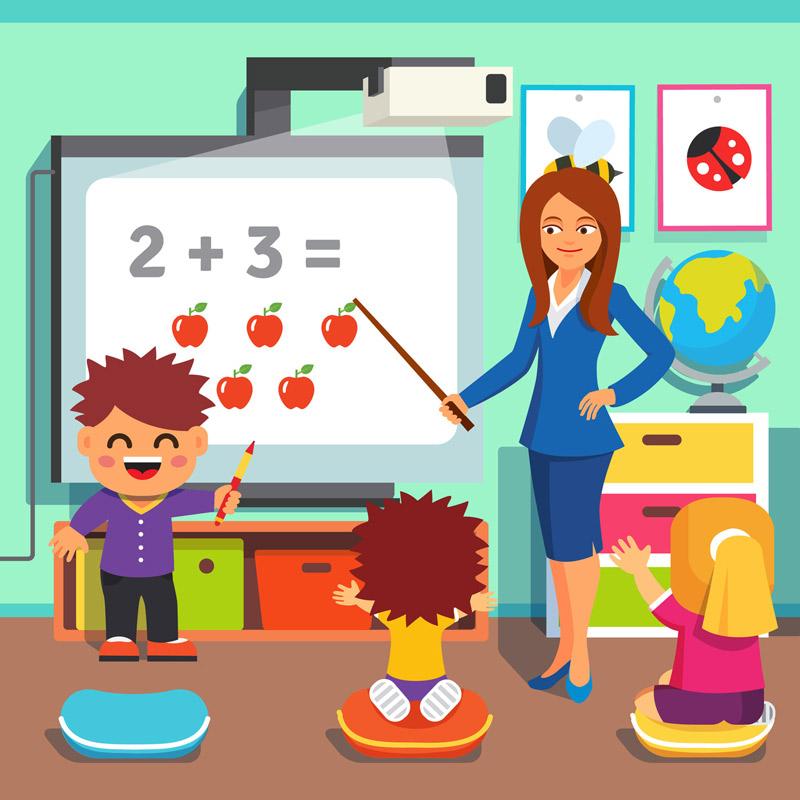 Le vidéoprojecteur interactif en classe