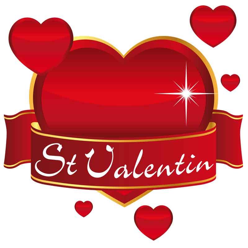 La Saint-Valentin, la fête des amoureux