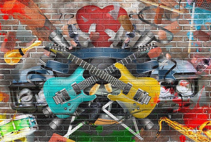 Street art décoration d'intérieur