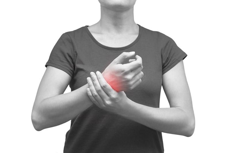 Douleurs canal carpien