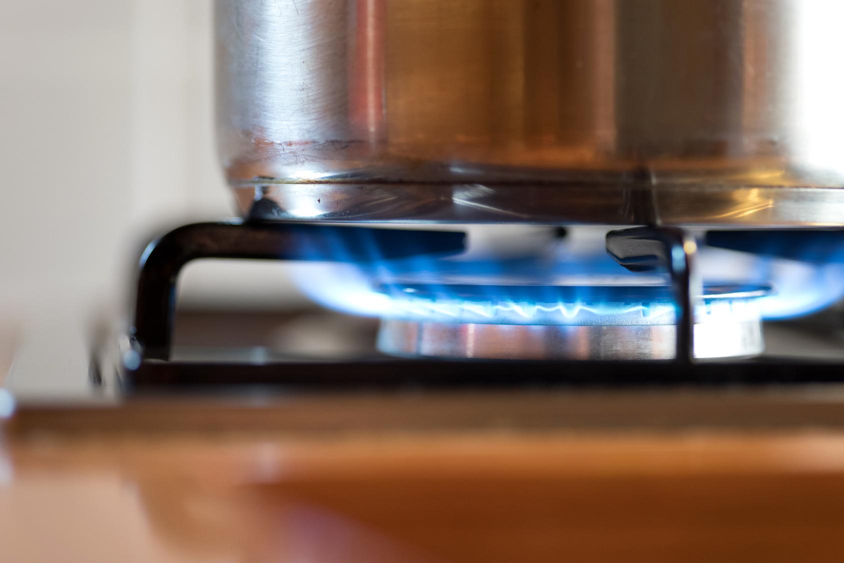 casserole adaptée à la cuisson au gaz naturel