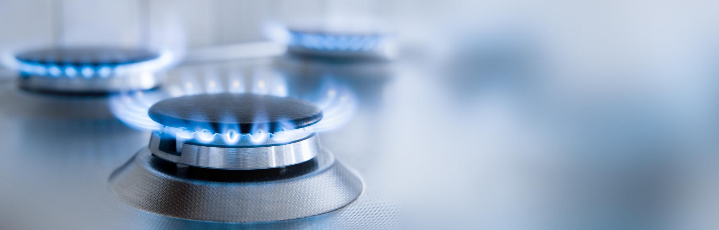 cuissiner avec gazinière au gaz naturel