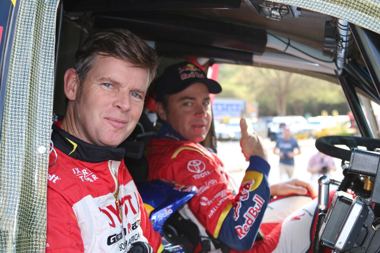 équipement pilote rallye