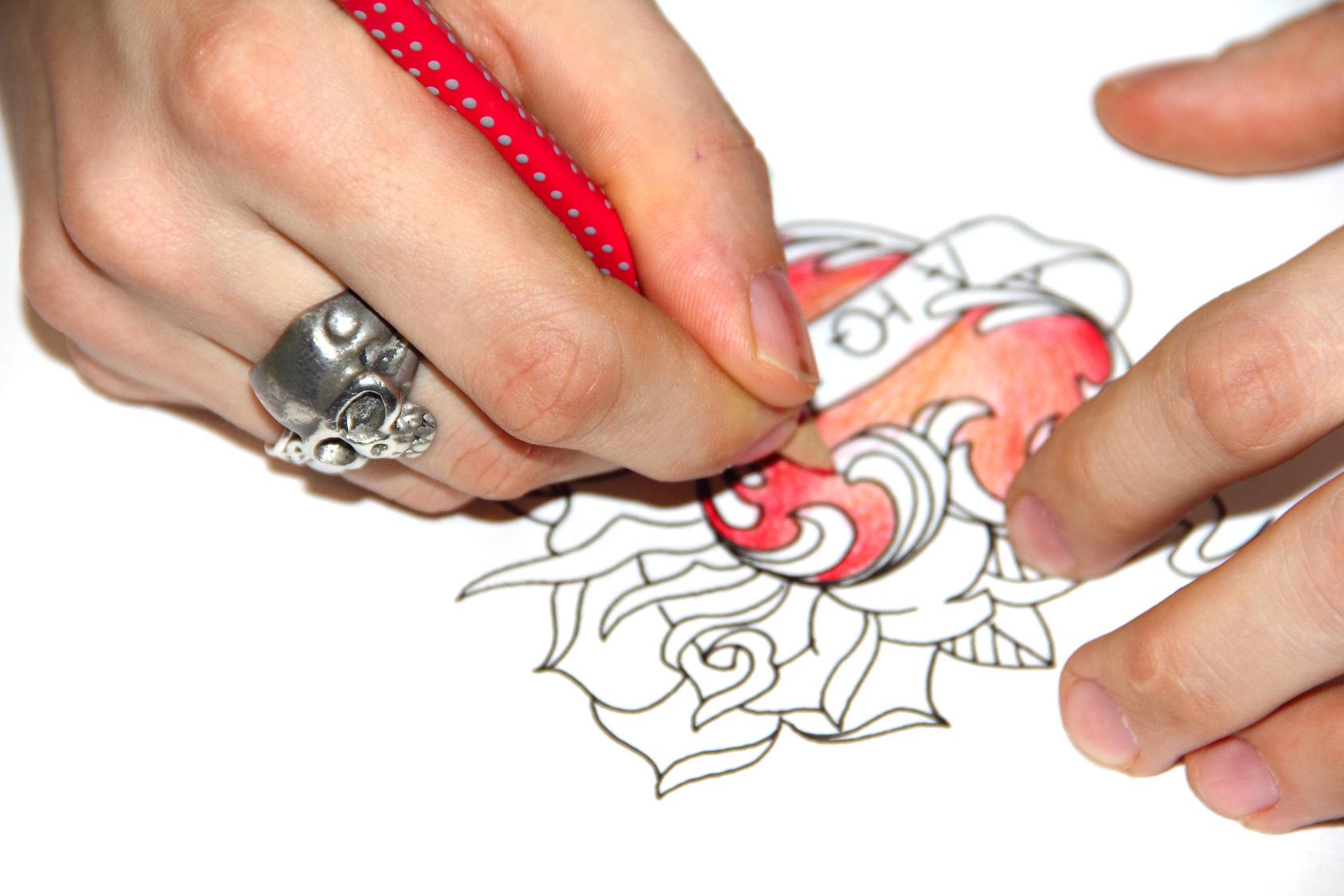 Dessiner son tatouage