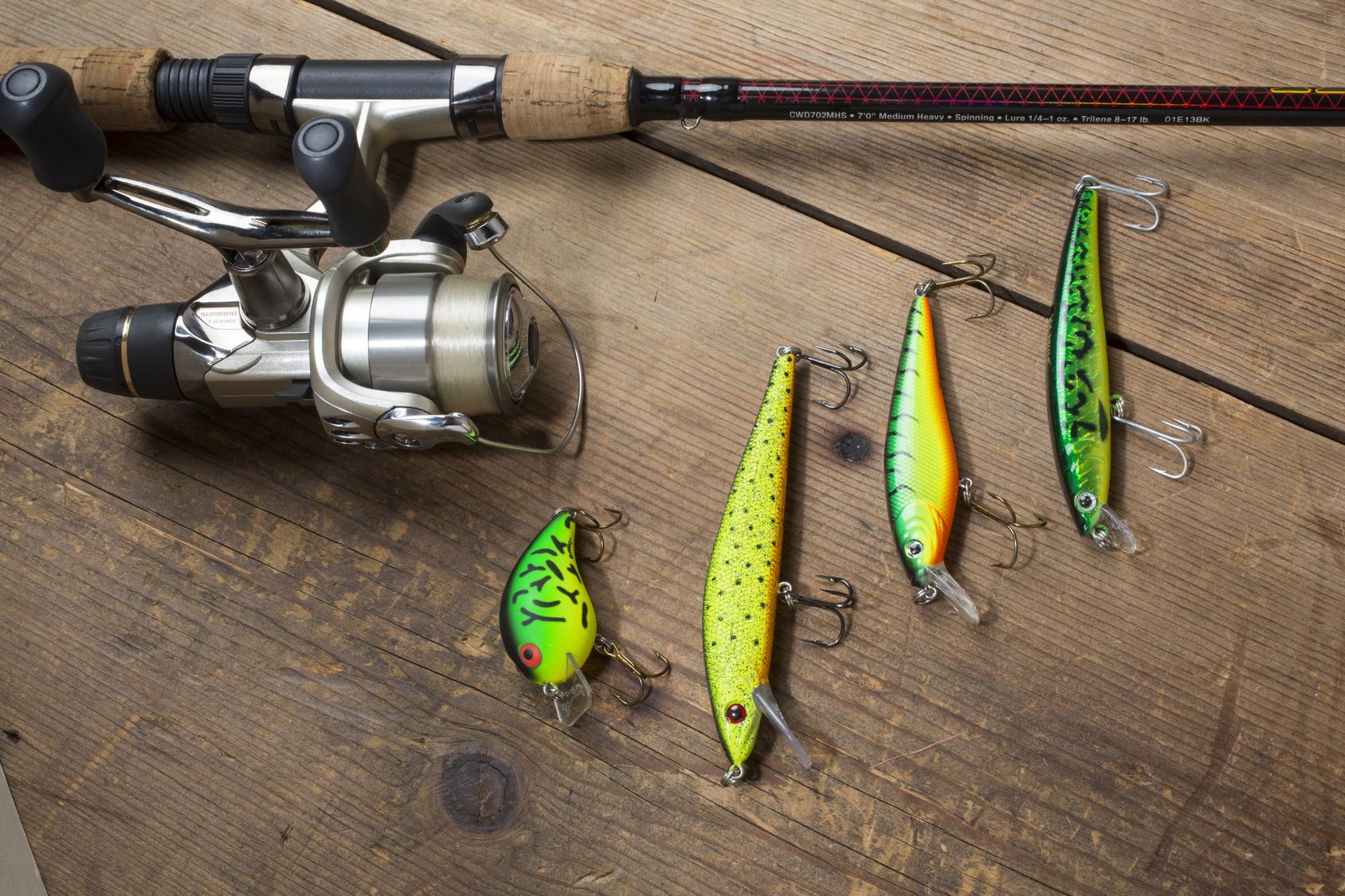 L'équipement de pêche