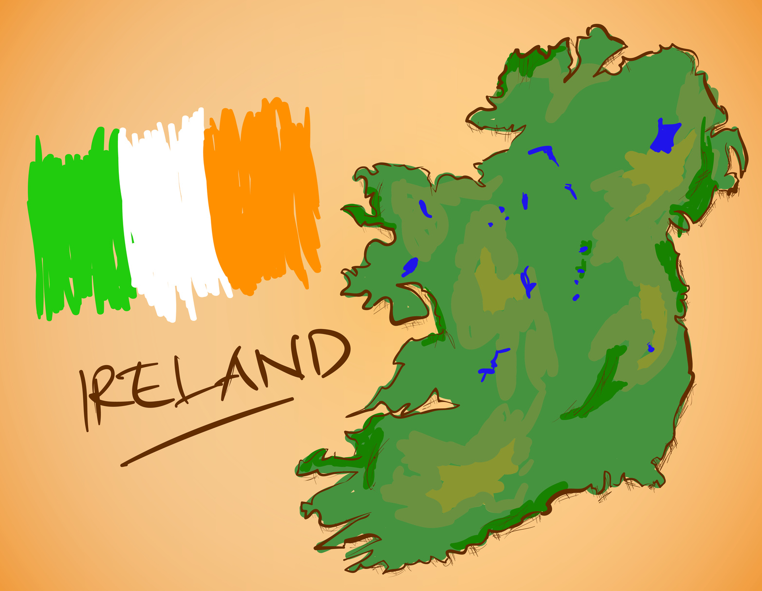Améliorer son anglais en Irlande