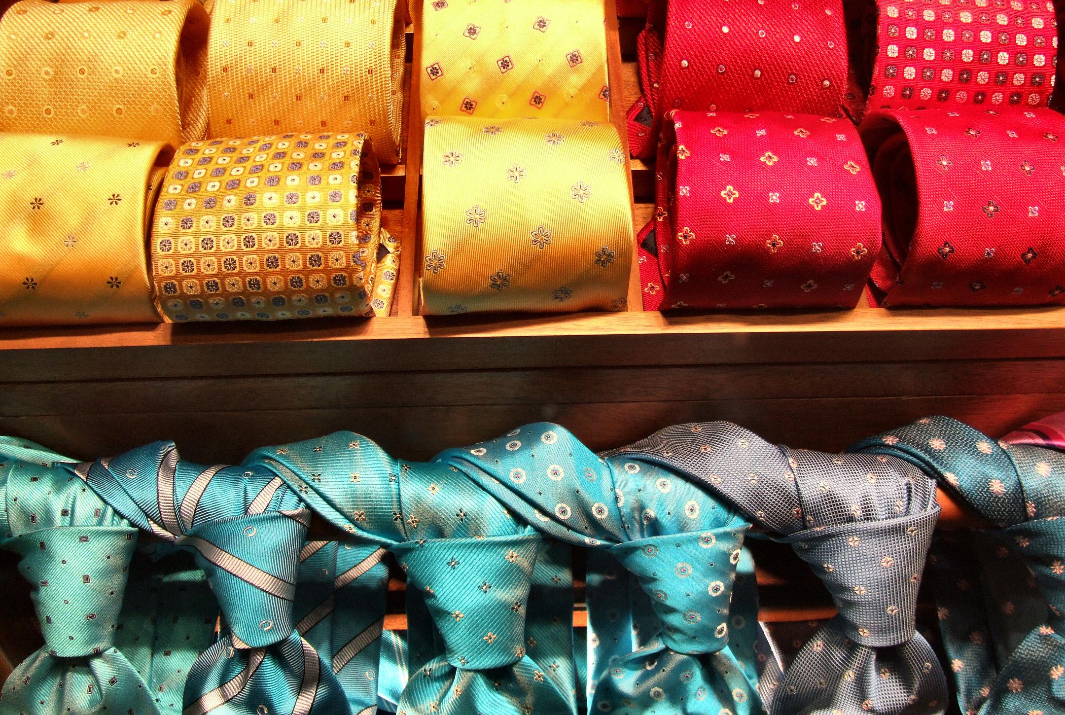 Accessoires mode : cravates hommes