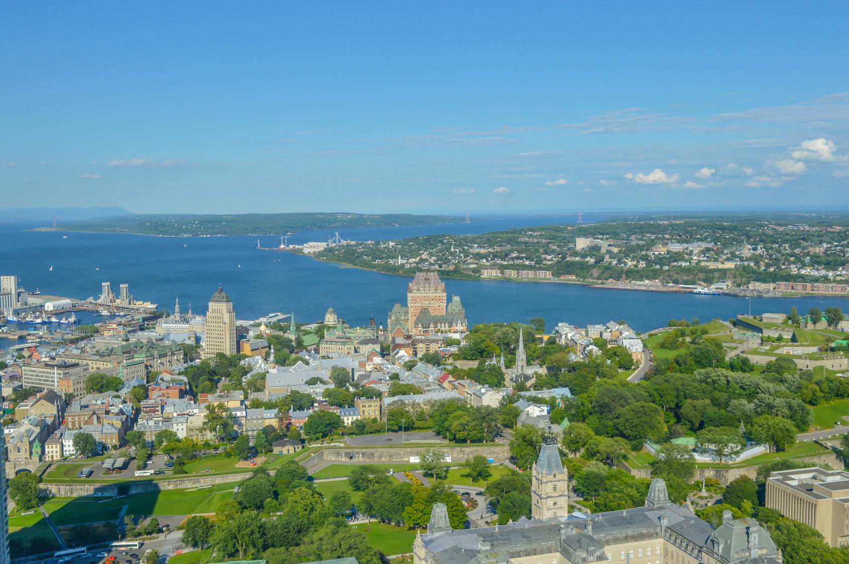 Voyage à Québec