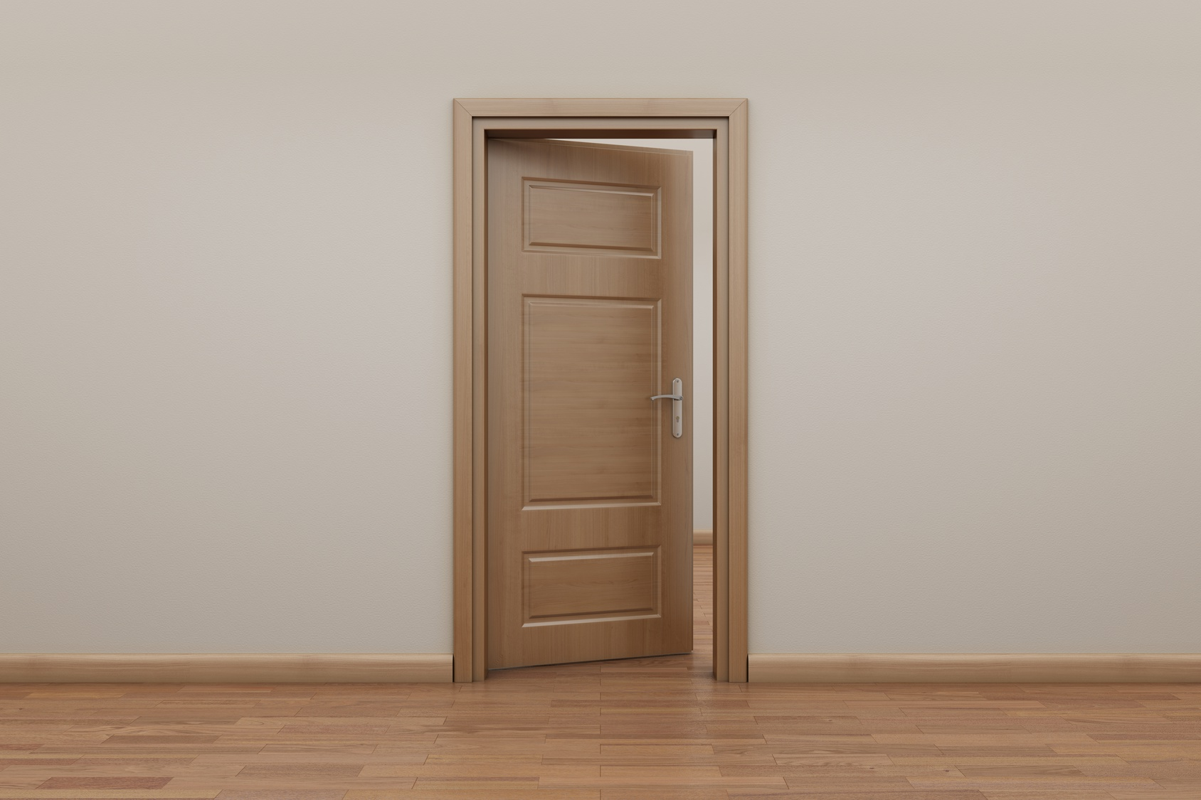 Portes int rieures tout savoir pour faire le bon choix - Modele porte en bois interieur ...