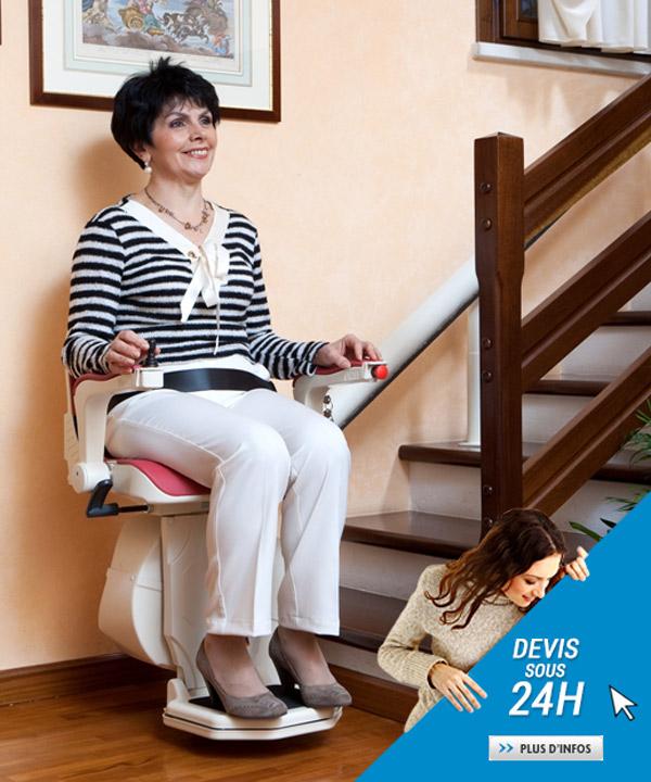 Demander un devis pour un siège monte-escaliers