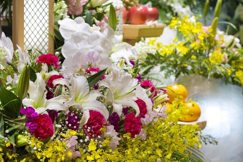 Compositions florales pour enterrement