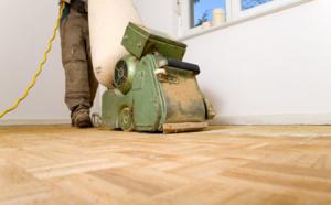 comment sabler un plancher de bois franc ?