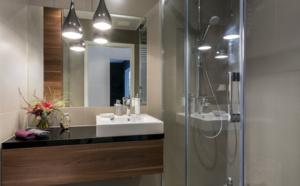 aménager l'espace d'une petite salle de bain